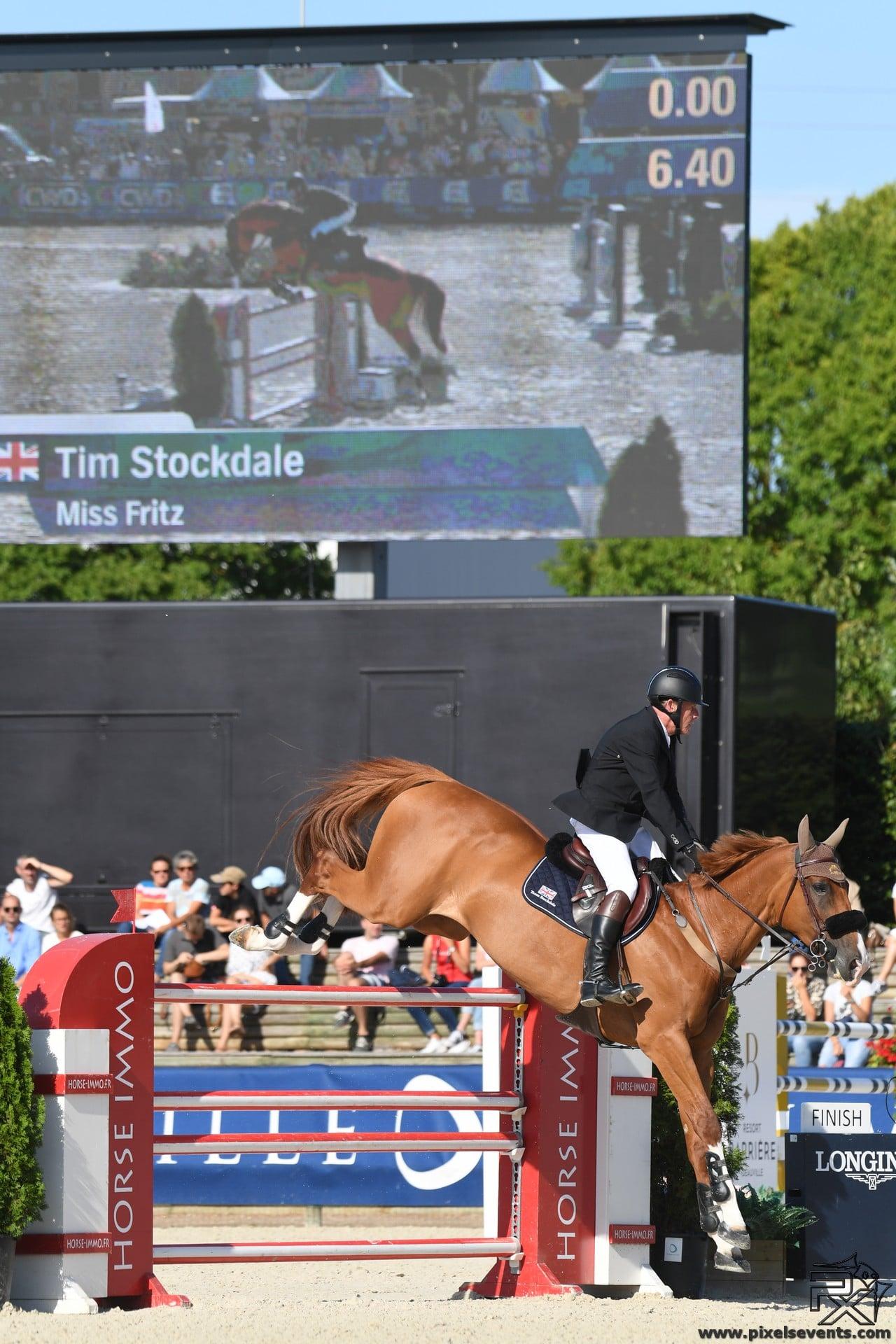Le britannique Tim Stockdale