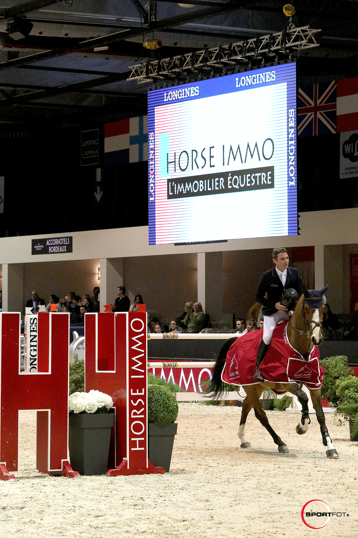 07/02/2019 ; Bordeaux ; Bordeaux International Jumping ; saturday csi5 1m45 ; presentation ; Sportfot