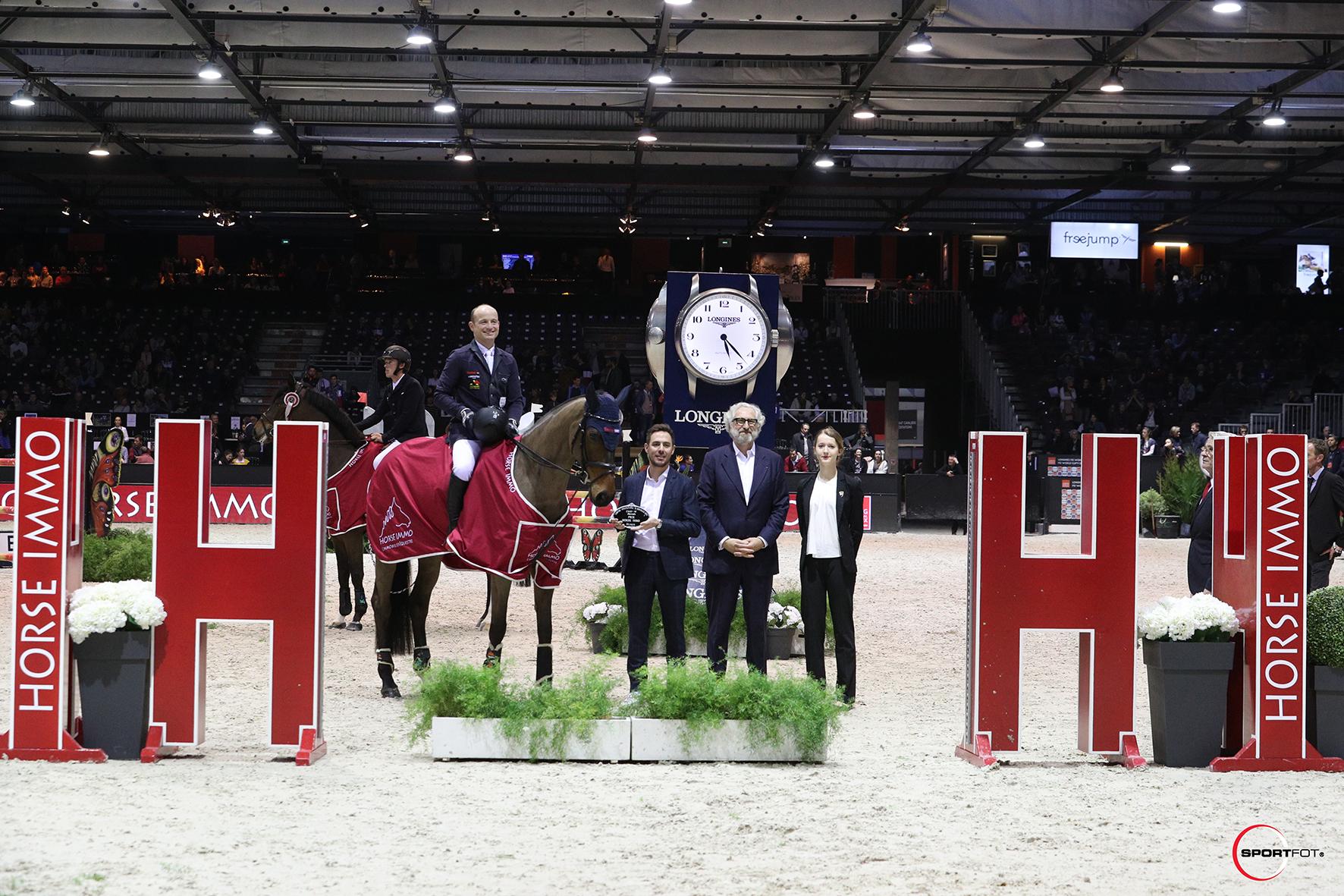 CSI5W – Prix HORSE IMMO – 2ème place Michael Jung et fischerDaily Impressed ©SPORTFOT 3 - Partenaire du Jumping International de Bordeaux du 7 au 9 Février 2019